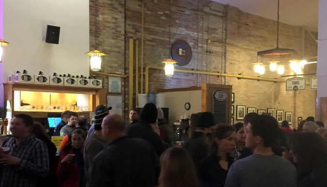 Lakefront Brewery Bar