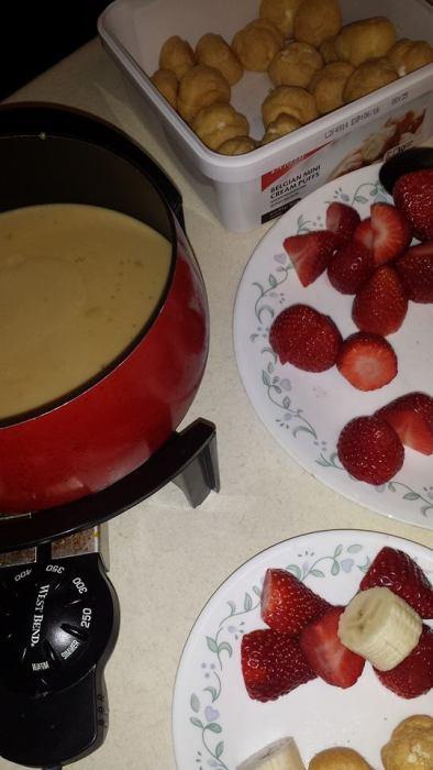 tiramisu fondue