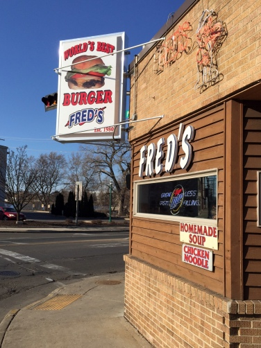 Fred's Exterior