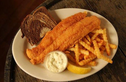 McKiernan's fried grouper