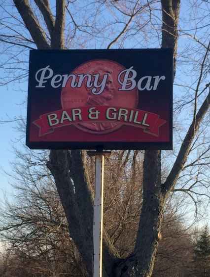 Penny Bar Sign