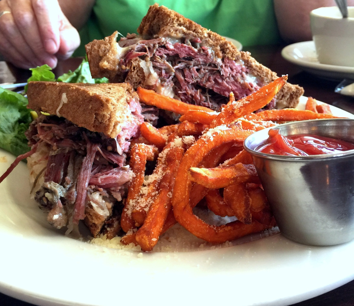 The Best (so far) Reuben we ate in SE Wisconsin was....