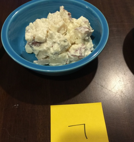 Mac's  Deli baked potato salad