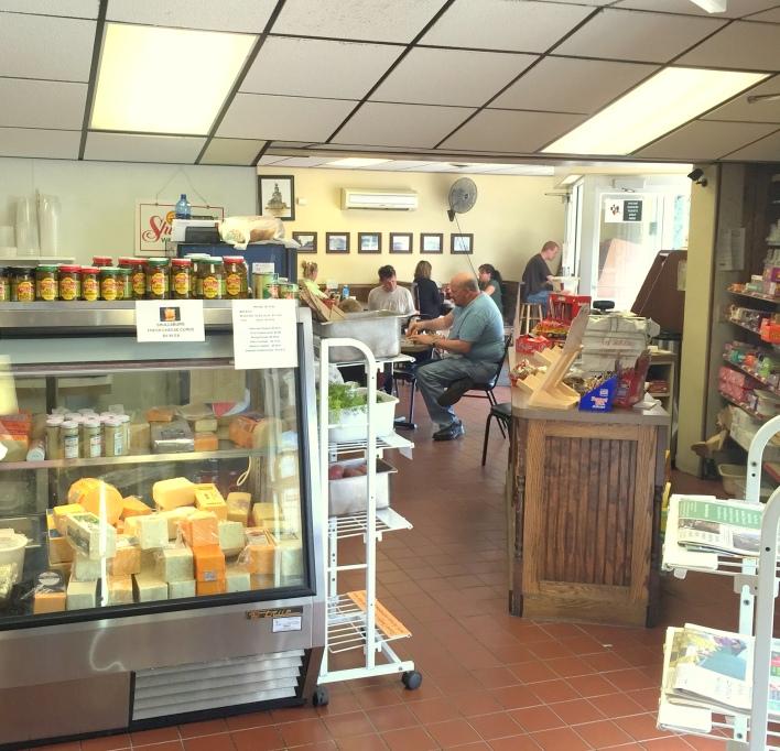 Sausage Kitchen interior