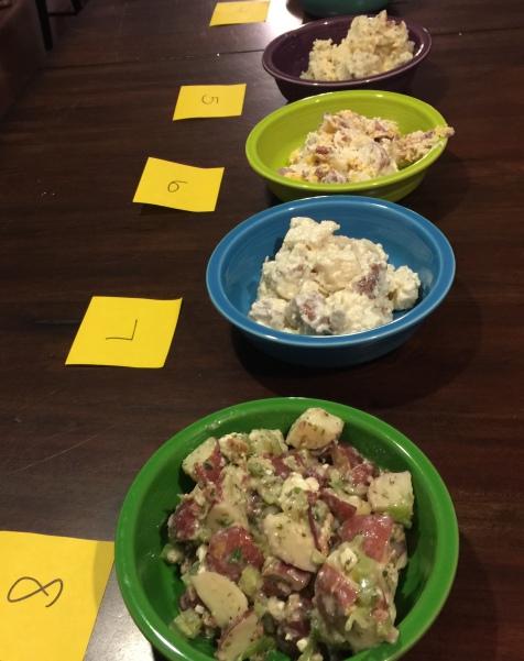 Second half potato salads