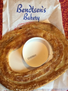 Bendtsen's Cherry Kringle out of bag