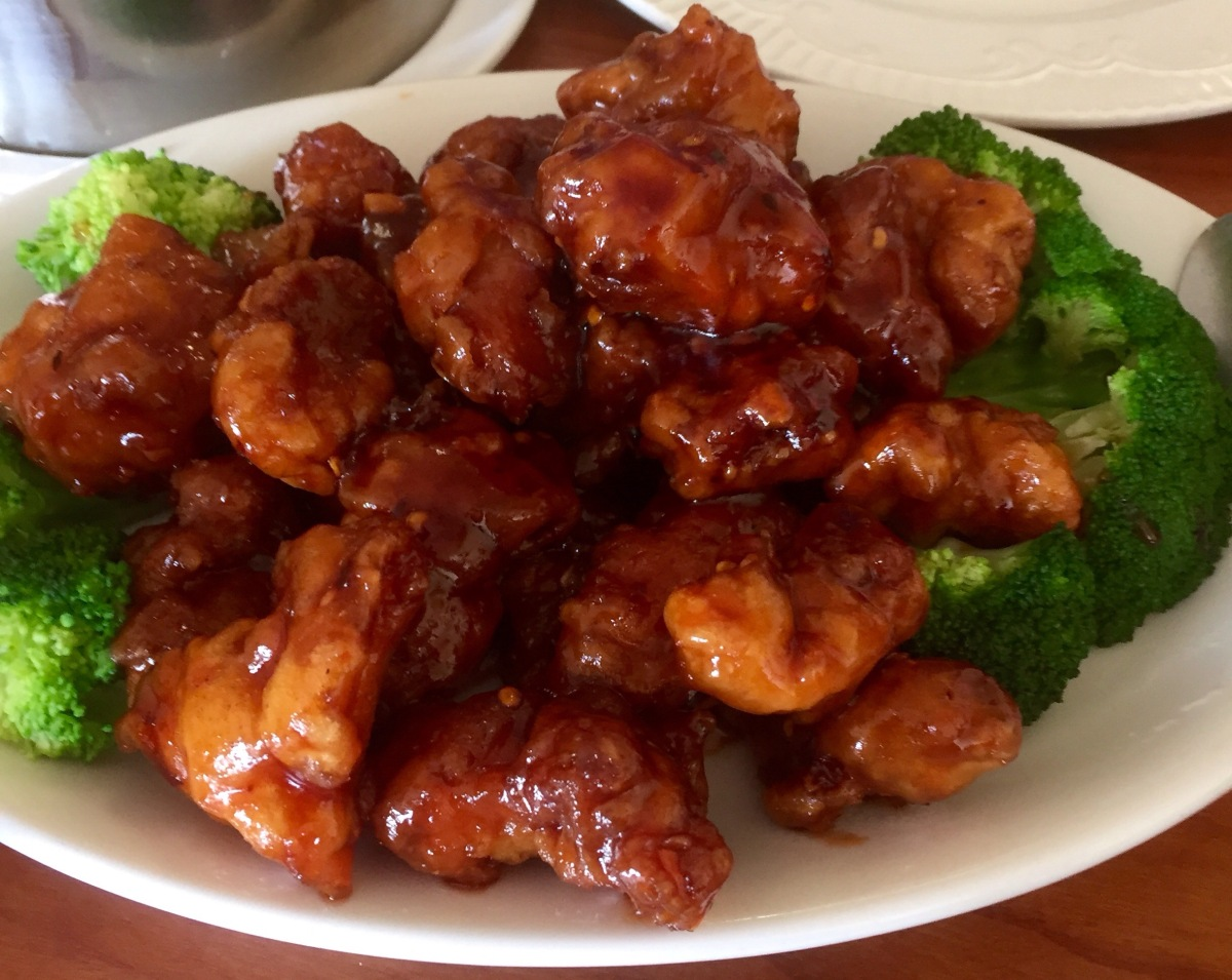 The General Tso's Chicken Champ is.....