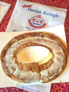 O&H Cherry Kringle out of bag