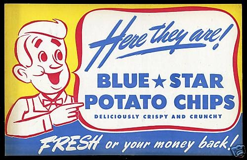 Blue Star potato chips