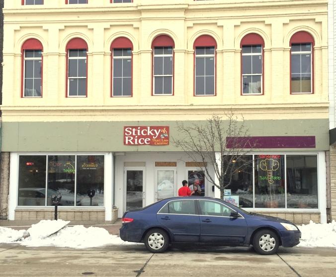 Sticky Rice Exterior