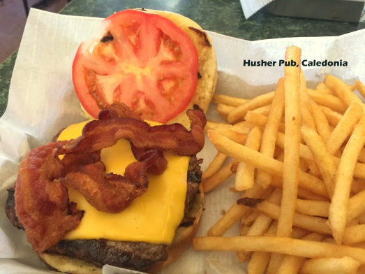 Husher Pub Burger