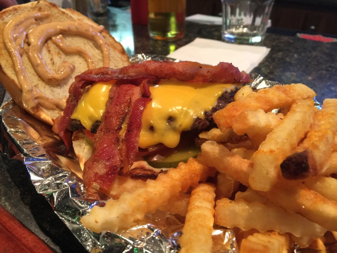 uptown pub burger